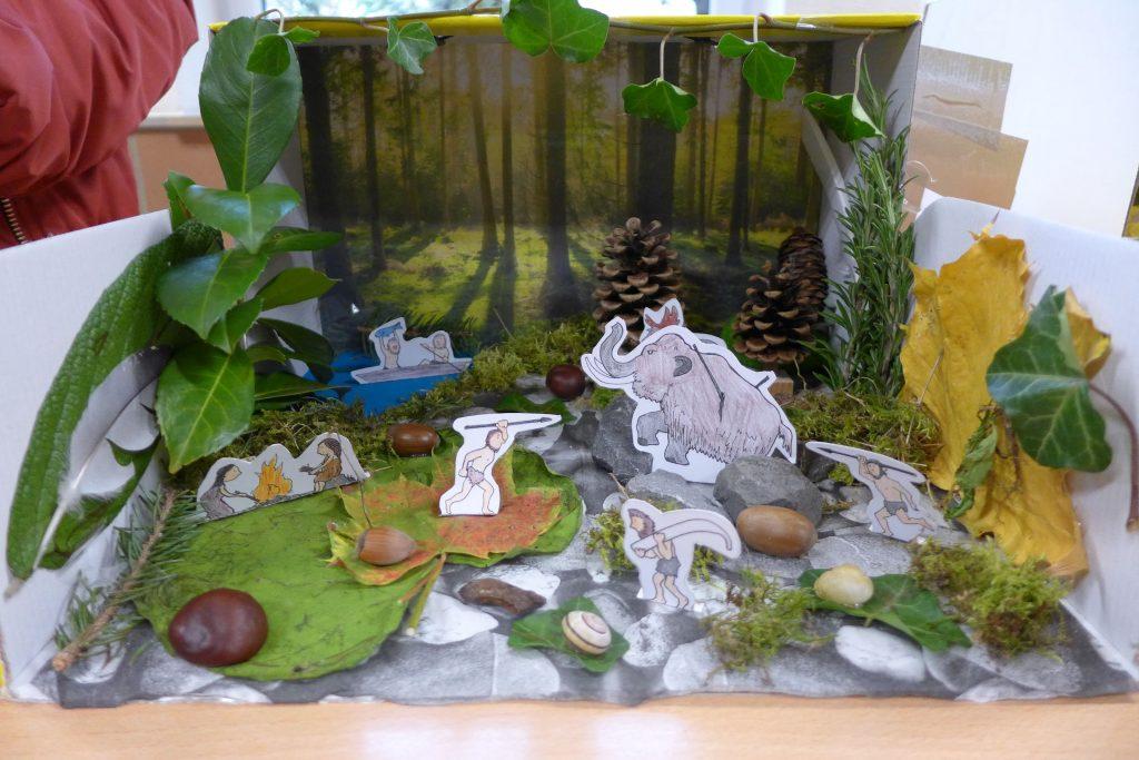 """Steinzeitprojekt """"History in a Box"""""""