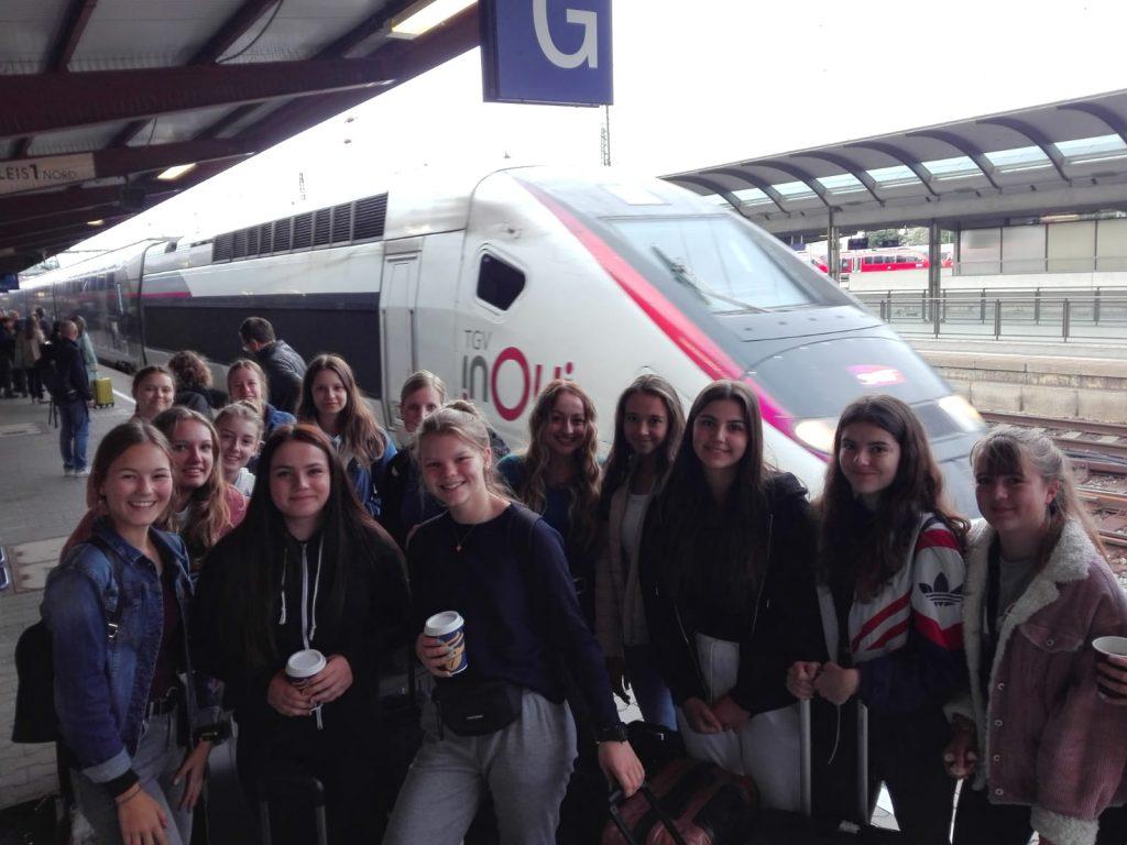 Schüleraustausch mit Frankreich