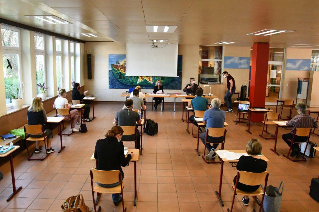 Lehrerkonferenz in Corona-Zeiten