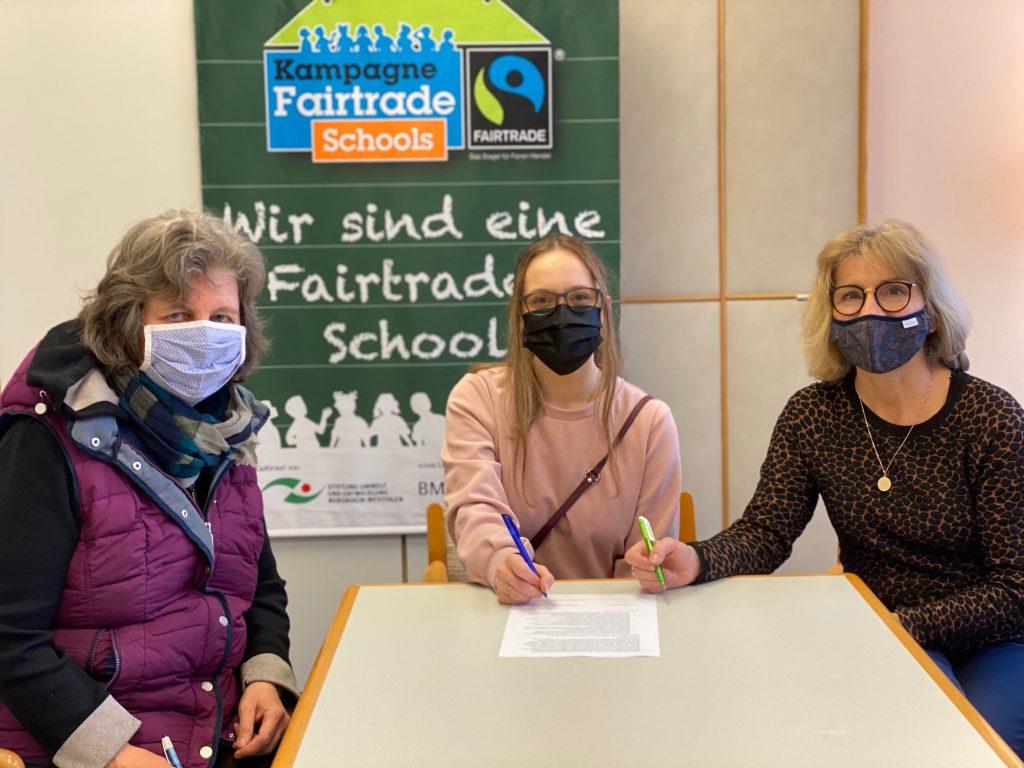Ein wichtiger Schritt zur Titelerneuerung als Fairtrade School ist geschafft!